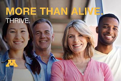 More than alive. Thrive.