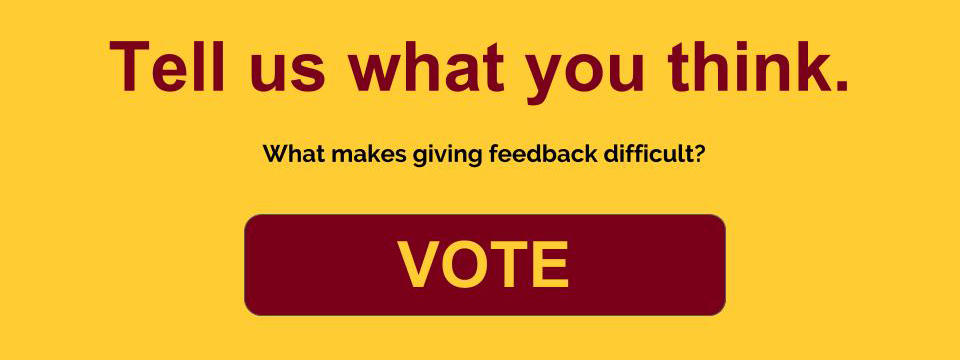 What makes giving feedback difficult?